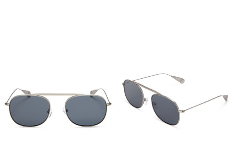 Lyndon Leone James Aviator Sunglasses, 56mm - 100% Exclusive - Bloomingdale's_2