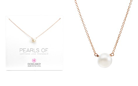 "Dogeared Pearls of Happiness, Love, Friendship Necklace, 16"" - Bloomingdale's_2"