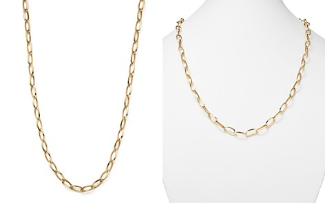"""Roberto Coin 18K Yellow Gold Long Link Chain Necklace, 31"""" - Bloomingdale's_2"""