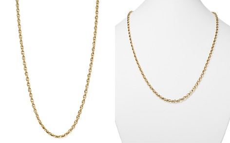 "Roberto Coin 18K Yellow Gold Link Necklace, 31"" - Bloomingdale's_2"