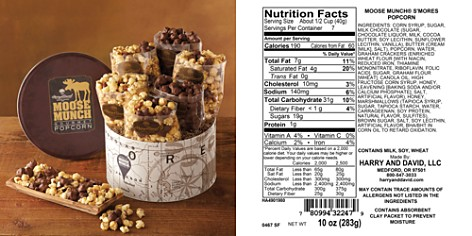Harry & David Deluxe Moose Munch Gourmet Popcorn Tin - Bloomingdale's_2