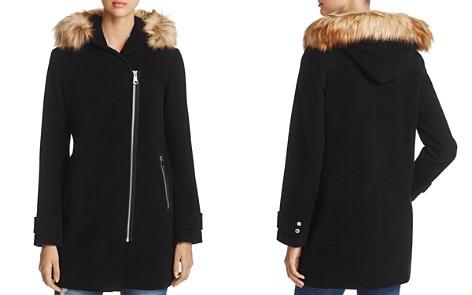 Marc New York Paloma Faux Fur Trim Coat - Bloomingdale's_2