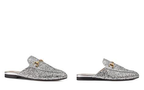 Gucci Princetown Glitter Mules - Bloomingdale's_2
