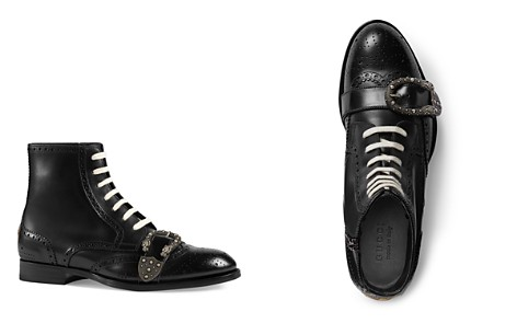 Gucci Queercore Brogue Boots - Bloomingdale's_2
