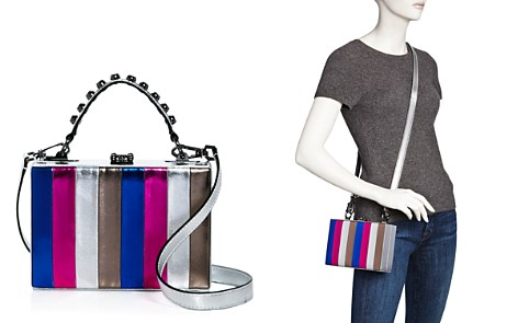 Nasty Gal Girl Boxx Metallic Striped Crossbody - 100% Exclusive - Bloomingdale's_2