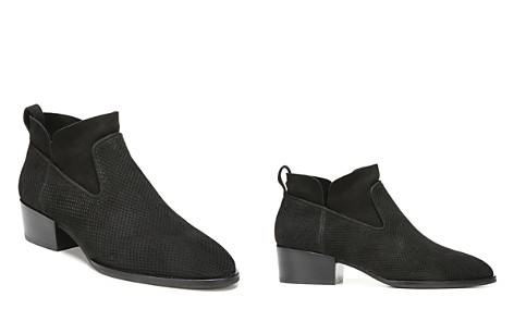 Via Spiga Tricia Perforated Block Heel Booties - Bloomingdale's_2