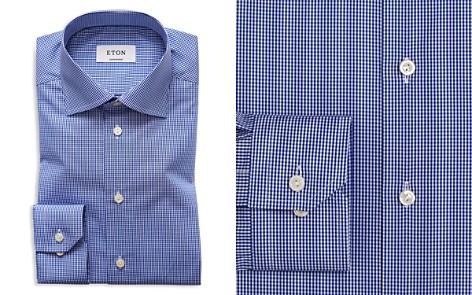 Eton of Sweden Mini Gingham Check Regular Fit Dress Shirt - Bloomingdale's_2