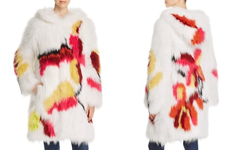 Maximilian Furs Floral Fox Fur Coat - Bloomingdale's_2