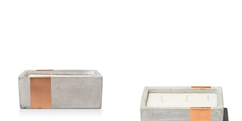 Paddywax Urban Concrete Rectangle Copper Bergamont & Mahogany Candle - Bloomingdale's Registry_2