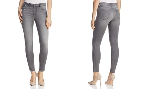 DL1961 Marguax Instasculpt Ankle Skinny Jeans in Drizzle - Bloomingdale's_2