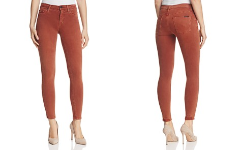 Hudson Nico Mid Rise Ankle Super Skinny Jeans in Sepia - Bloomingdale's_2