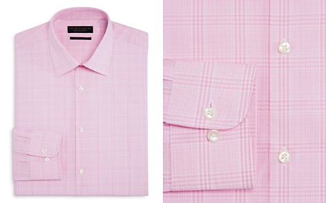 The Men's Store at Bloomingdale's Large Check Regular Fit Dress Shirt - 100% Exclusive_2