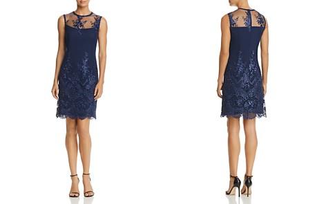 nanette Nanette Lepore Embroidered Mesh Sheath Dress - Bloomingdale's_2