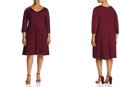 Love Scarlett Plus Lace-Up Shoulder Dress - Bloomingdale's_2
