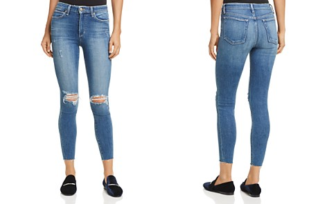 Joe's Jeans The Charlie High-Rise Ankle Skinny Jeans in Kinkade - Bloomingdale's_2