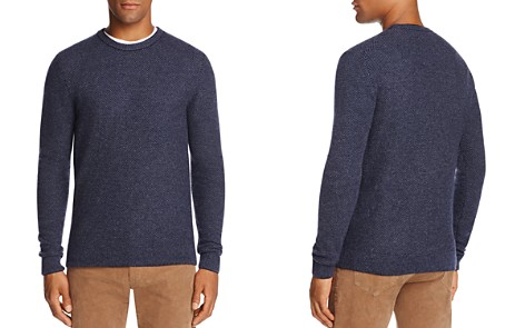 The Men's Store at Bloomingdale's Wool & Cashmere Honeycomb Sweater_2