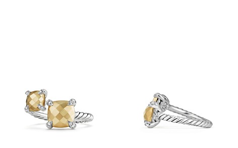 David Yurman Châtelaine Bypass Ring with 18K Gold and Diamonds - Bloomingdale's_2