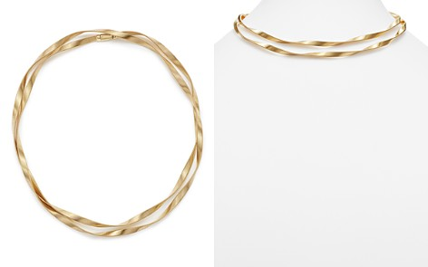 "Marco Bicego 18K Yellow Gold Marrakech Supreme Double Collar Necklace, 36"" - Bloomingdale's_2"