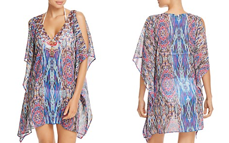 Laundry by Shelli Segal Chiffon Tunic Swim Cover-Up - Bloomingdale's_2