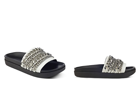 KENDALL and KYLIE Shiloh Chain Pool Slide Sandals - Bloomingdale's_2