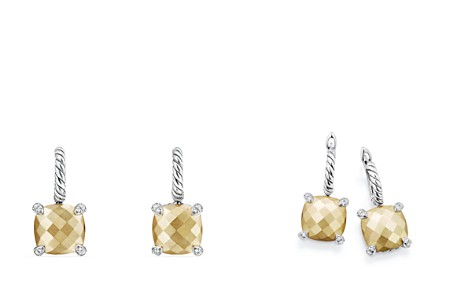 David Yurman Châtelaine Drop Earrings with 18K Gold and Diamonds - Bloomingdale's_2