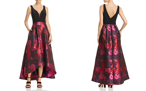 Avery G Floral High/Low Gown - Bloomingdale's_2