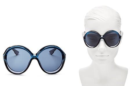 Dior DiorBianca Round Sunglasses, 58mm - Bloomingdale's_2