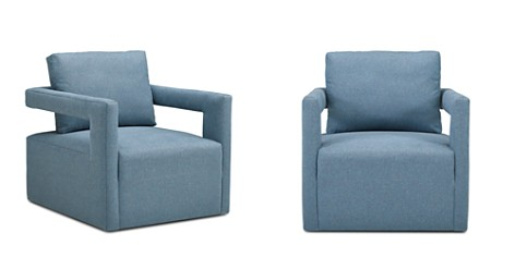 Bloomingdale's Artisan Collection Everly Swivel Chair_2