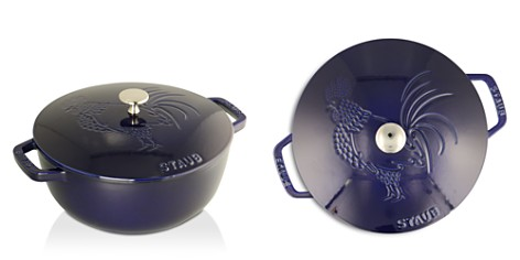 Staub 3.75-Quart Essential French Oven, Rooster Lid - Bloomingdale's_2