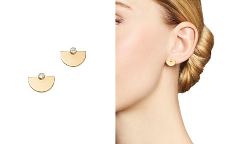 Zoë Chicco 14K Yellow Gold Horizon Diamond Earrings - Bloomingdale's_2