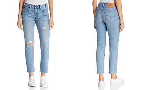 Levi's 505C High Rise Crop Jeans - Bloomingdale's_2