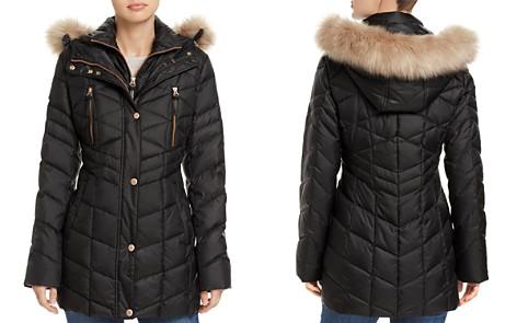 Marc New York Marley Faux Fur Trim Puffer Coat - Bloomingdale's_2