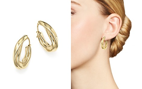 14K Yellow Gold Twisted Oval Drop Earrings - 100% Exclusive - Bloomingdale's_2