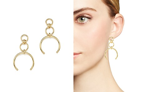 14K Yellow Gold Open Link Drop Earrings - 100% Exclusive - Bloomingdale's_2