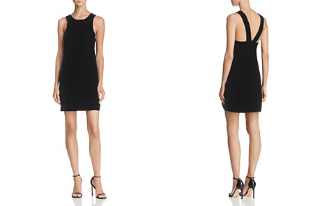 Elizabeth and James Pippin V-Back Strap Velvet Mini Dress - Bloomingdale's_2