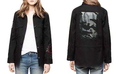 Zadig & Voltaire Tackl Military-Inspired Shirt Jacket - Bloomingdale's_2