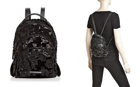 KENDALL and KYLIE Sloane Sequin Mini Backpack - Bloomingdale's_2