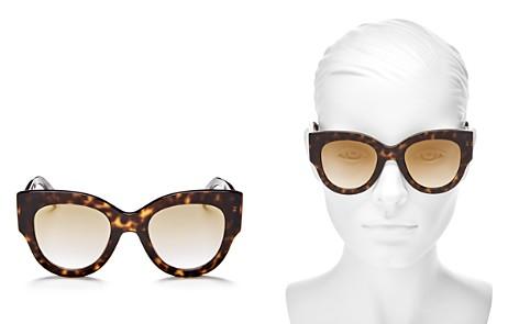 Fendi Mirrored Round Sunglasses, 51mm - Bloomingdale's_2