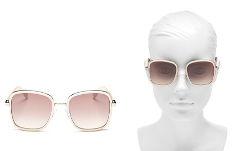 Jimmy Choo Women's Elva Mirrored Square Sunglasses, 54mm - Bloomingdale's_2