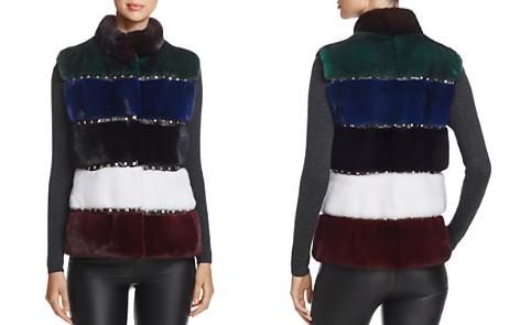 Maximillian Furs Studded Kopenhagen Mink Fur Vest - 100% Exclusive - Bloomingdale's_2