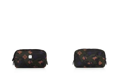 MCM Dieter Munich Lion Camo Nylon Toiletry Kit - Bloomingdale's_2