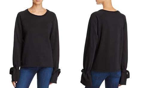 PAIGE Calandra Tie-Sleeve Sweatshirt - Bloomingdale's_2
