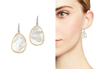 Marco Bicego 18K White & Yellow Gold Lunaria Mother-Of-Pearl & Diamond Earrings - Bloomingdale's_2