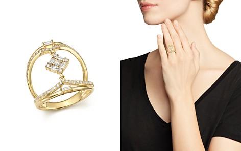 KC Designs 14K Yellow Gold Mosaic Diamond Statement Ring - Bloomingdale's_2
