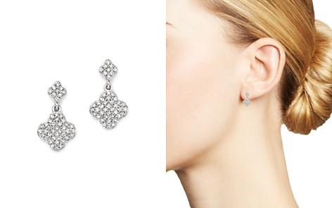 KC Designs 14K White Gold Diamond Clover Drop Earrings - Bloomingdale's_2