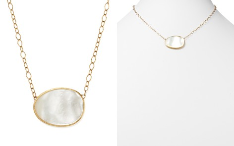 """Marco Bicego 18K Yellow Gold Lunaria Mother-of-Pearl Pendant Necklace, 16"""" - Bloomingdale's_2"""