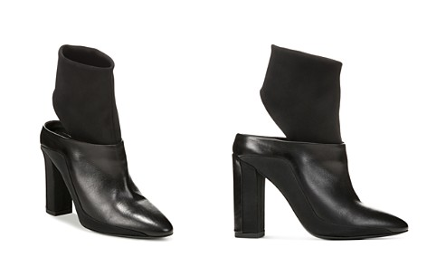 Via Spiga Women's Agyness Mixed Media Booties - Bloomingdale's_2