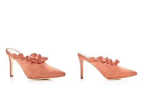 Loeffler Randall Women's Langley Suede Pointed Toe High-Heel Mules - Bloomingdale's_2