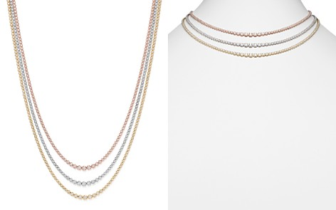 Bloomingdale's Diamond Graduated Tennis Necklace in 14K Gold, 8.45 ct. t.w. - 100% Exclusive _2