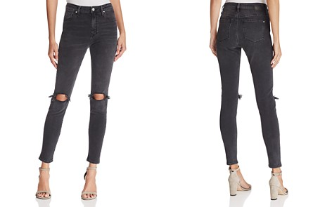 Mavi Lucy Skinny Jeans in Smoked Ripped - Bloomingdale's_2